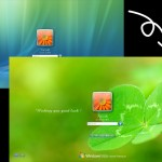 Windows Vista ログオンテーマの変更