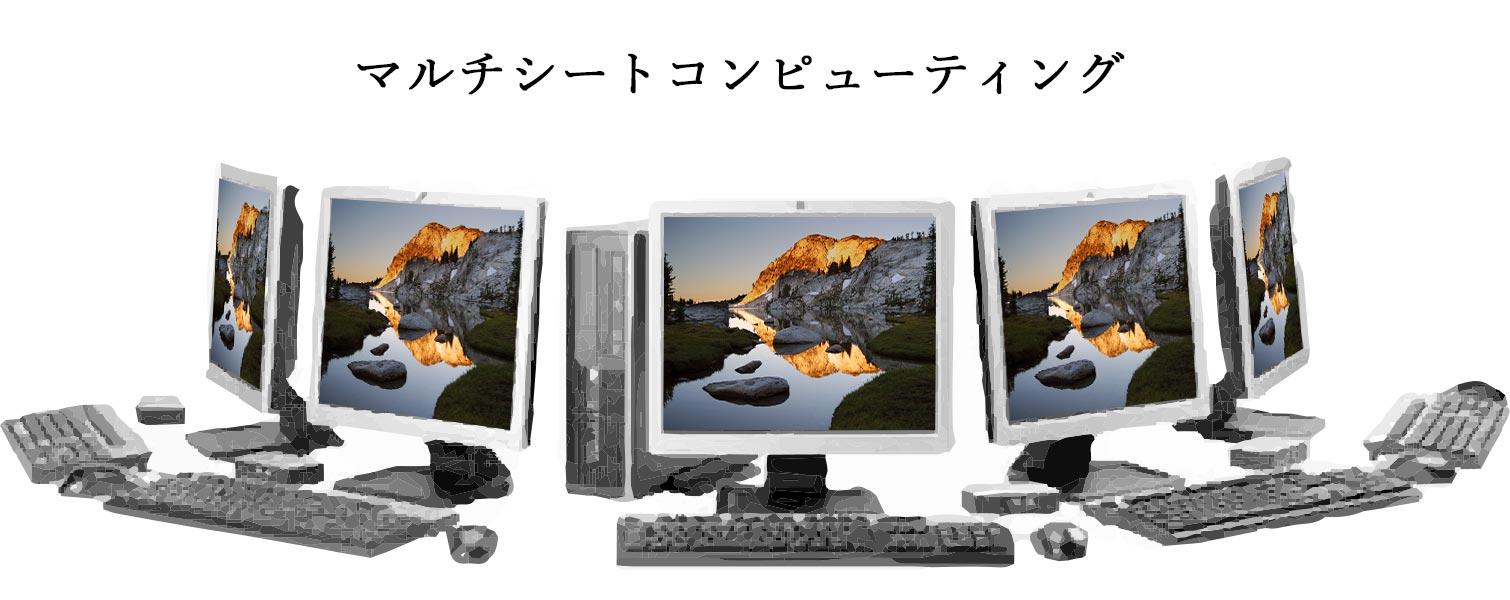 一台のパソコンで複数のiphone